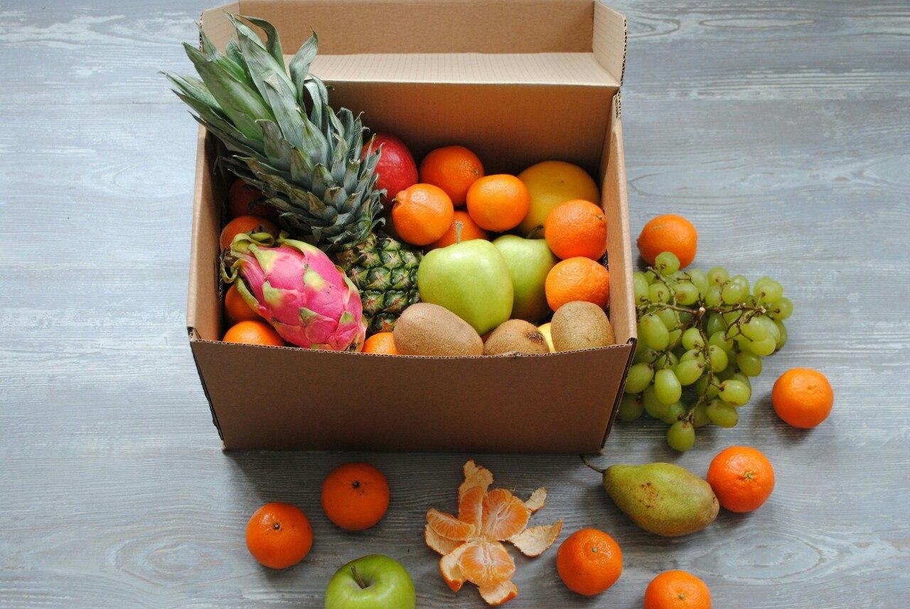 Набор экзотических фруктов подарок 63
