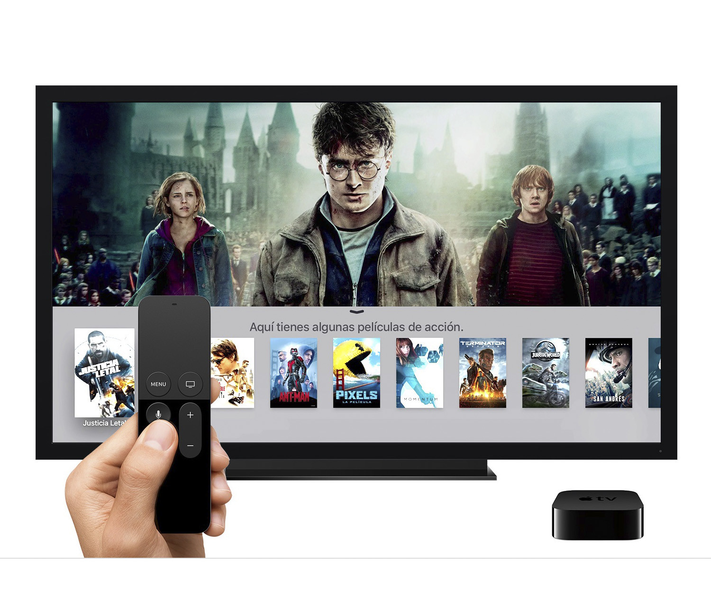 Apple TV 4 32 ГБ Интерфейс