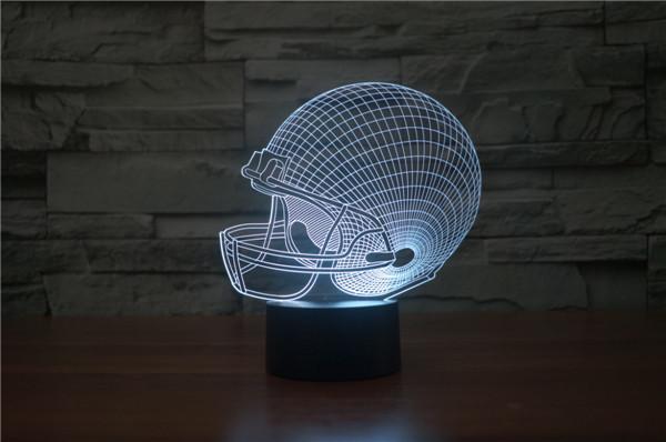 Светильник Шлем для регби