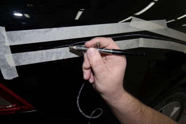 Ремонт глубоких царапин авто своими руками