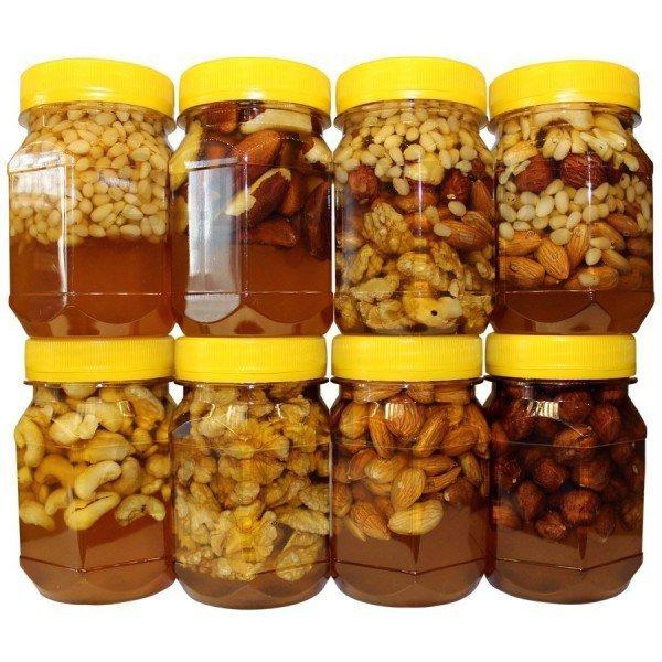 Как сделать из мёда грецких орехов и