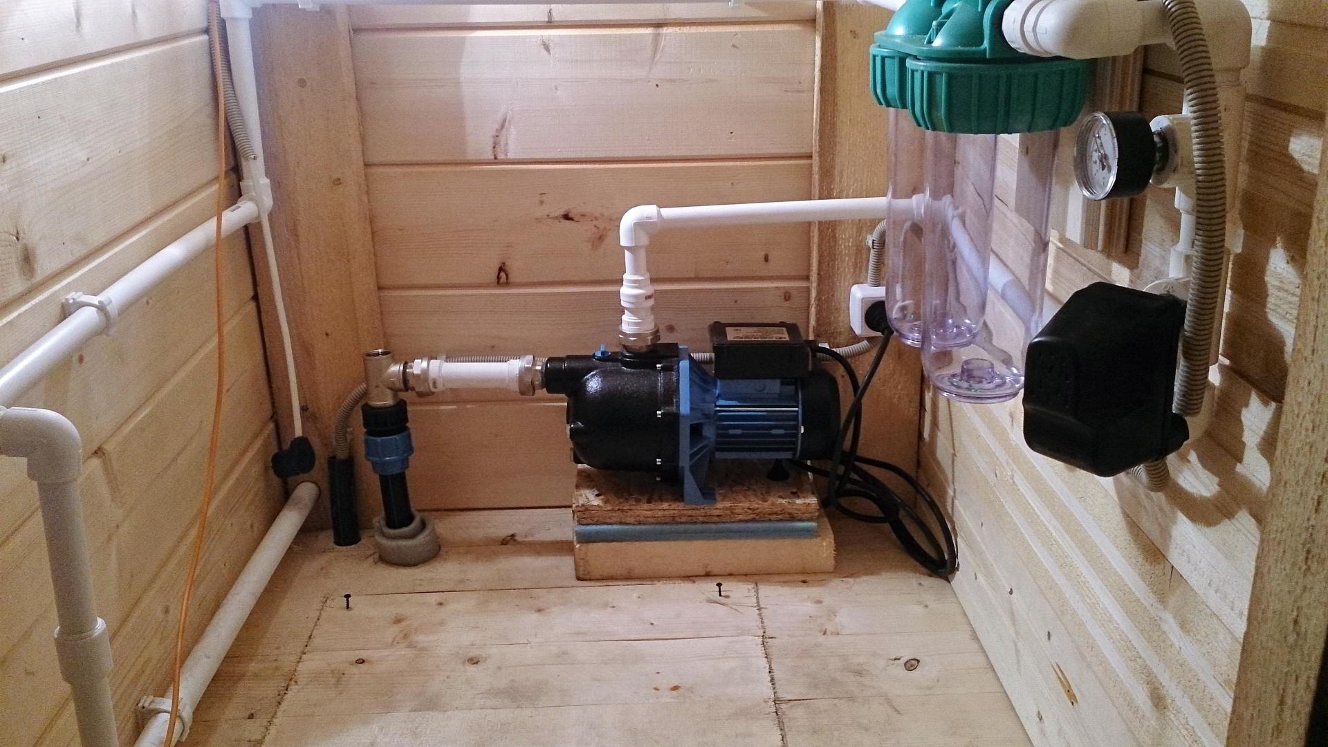 Водопровода частного дома своими руками