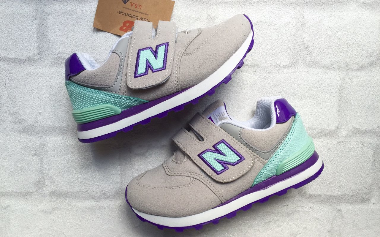 детские кроссовки Нью Баланс фиолетовые1990 рублей