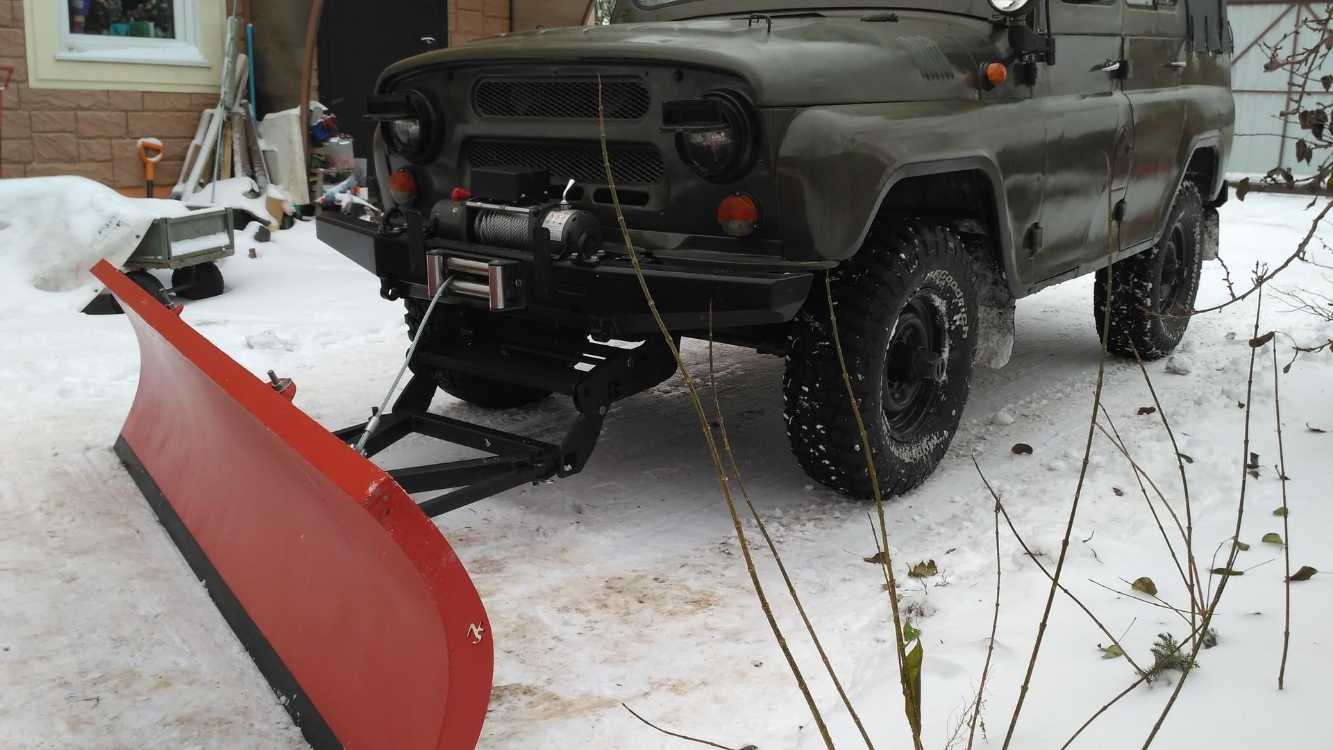 Услуга уборка снега снегоуборщиком