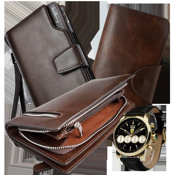 75a94bfad615 Три элитных портмоне - Gaius Kessar Italy, Baellary Business и CarWallet по  цене одного